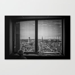Just wanna get out... Canvas Print