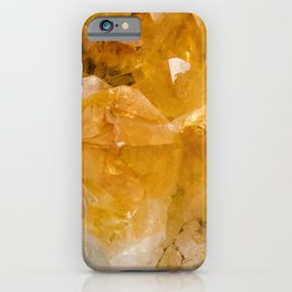 Citrine iPhone Case