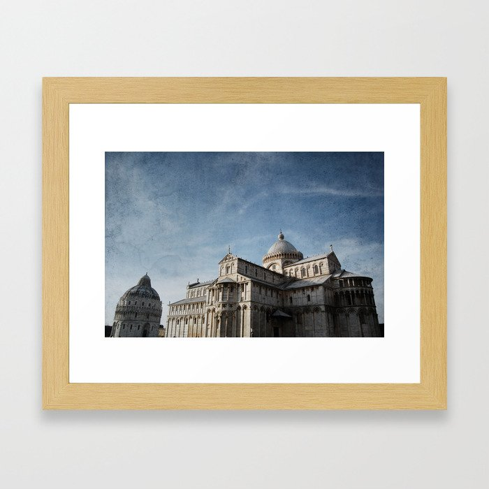Pise Framed Art Print