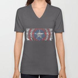 Civil War Quote Unisex V-Neck