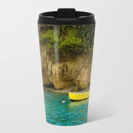 Yellow Boat Travel Mug