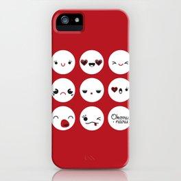 Moods iPhone Case
