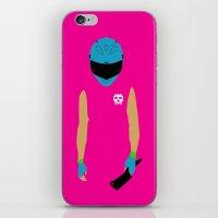 hotline miami iPhone & iPod Skins featuring Hotline Miami: Biker by Hazakael