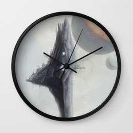 The Mothership has arrived Wall Clock