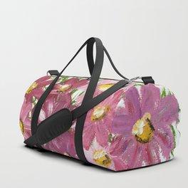 PINK PETALS & LEAVES Duffle Bag