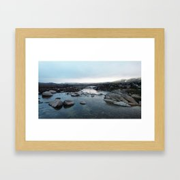 Mouth of the Snowy River, Kosciuszko National Park, NSW Framed Art Print