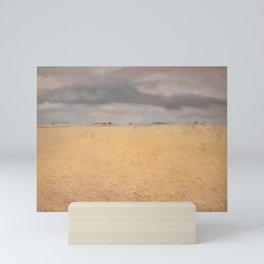 Laurits Andersen Ring - A Rye Field near Ring Village Mini Art Print