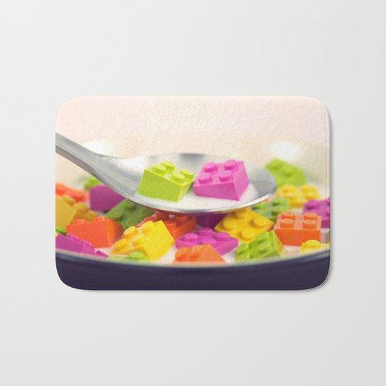 A Balanced Brickfast Bath Mat