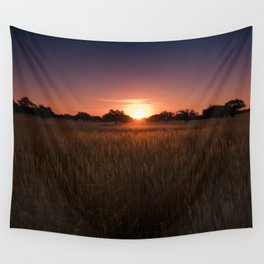 African Kalahari Sunset - Landscape Photography #Society6 Wall Tapestry
