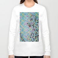 camo Long Sleeve T-shirts featuring Camo by Caballos of Colour