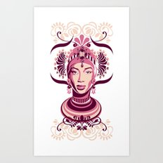 Aminata Art Print