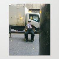 Barcelona cigar Canvas Print