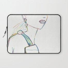 Color pencil fashion woman Laptop Sleeve