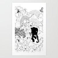 Selvagens  Art Print