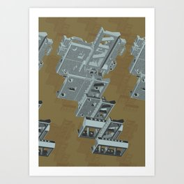 Mechanical 3 Art Print