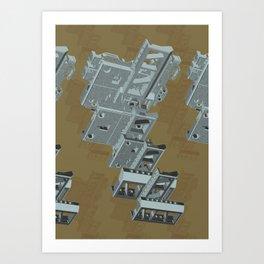 Mechanical 3 Art Print