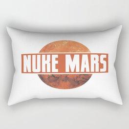 NUKE MARS - RED Rectangular Pillow