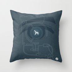 BLADE RUNNER (Voight Kampf Test Version) Throw Pillow