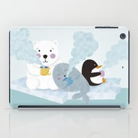 coffe iPad Cases featuring polar coffe by Proyecto Melón