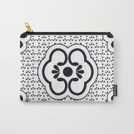 Japanese design flower pattern Carry-All Pouch