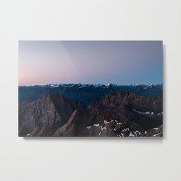 Zugspitze, Germany Metal Print