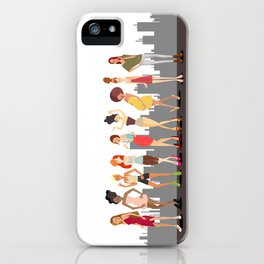 Girls girls Girls iPhone Case