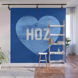 Heart Hoz Wall Mural