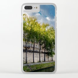 The Perfect Light, Paris France Clear iPhone Case