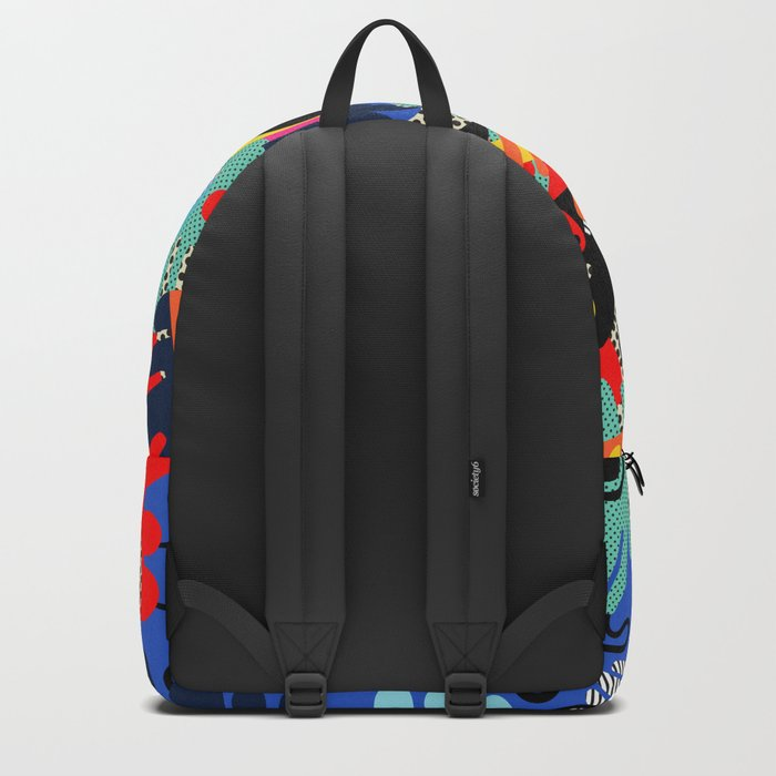 Color blobs 002 Backpack
