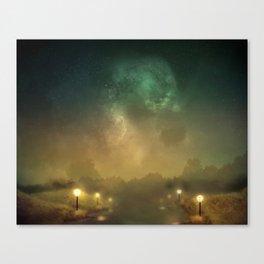 Ghost Lights Canvas Print