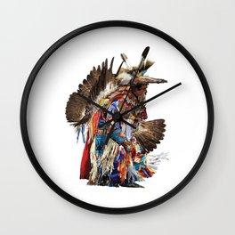 Eagle Dancer Wall Clock