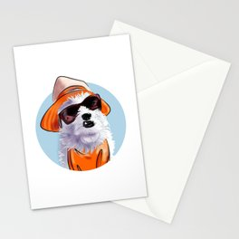 Summer Maltese Stationery Cards