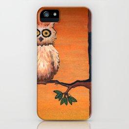 Owl in an Oak iPhone Case