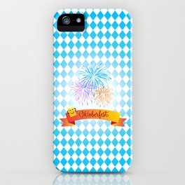 Happy Oktoberfest Festival Decoration Gifts and Presents iPhone Case