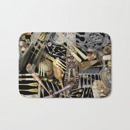 Antique Cutlery Bath Mat