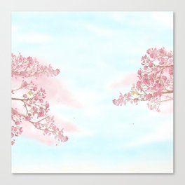 A day for cherry blossom | Miharu Shirahata Canvas Print