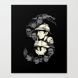Holmes and Watsons Canvas Print