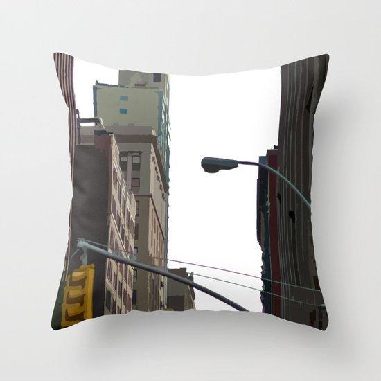 Slicelight Throw Pillow