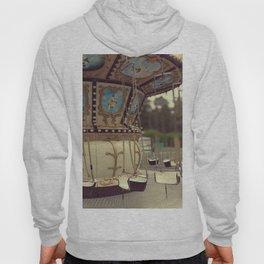 Carousel in the amusement park Hoody