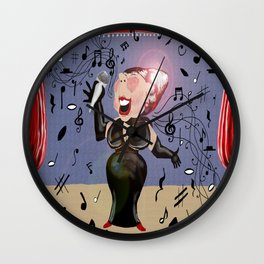 It ain't over until the fat lady sings Wall Clock