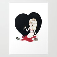 Valentine's Art Print