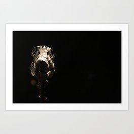 Dino-Skel Art Print