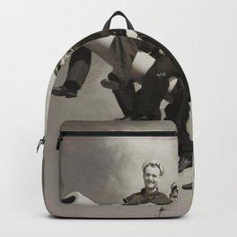 SEAMEN ON A NAVAL GUN ABLE SEAMAN DAVID RALPH GOODWIN WORLD WAR II 1939-1948 Backpack