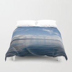 Infinite: Oslo Harbor Duvet Cover