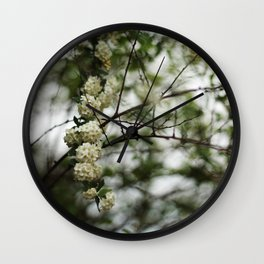 All-Natural Bokeh Wall Clock