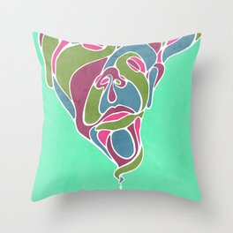 Growth in Reflection Throw Pillow