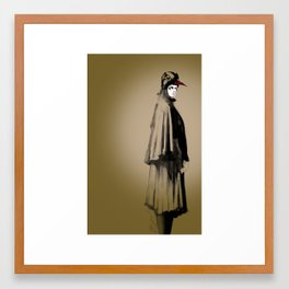 Illustration By Dana Bocai for Alexandra Groover Framed Art Print
