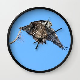 Late for work Wall Clock