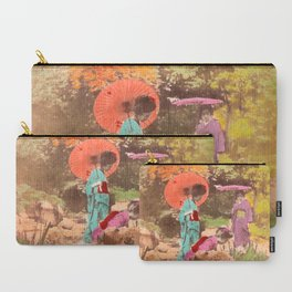 Geisha in the garden Carry-All Pouch