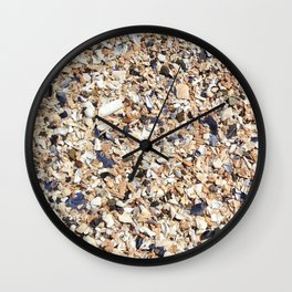 Collective Fragments Wall Clock